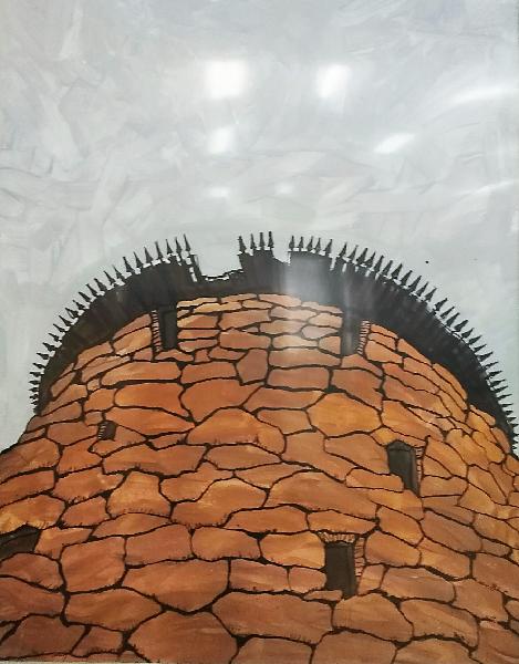 белаябашня.50х70.акрилбумага.2017