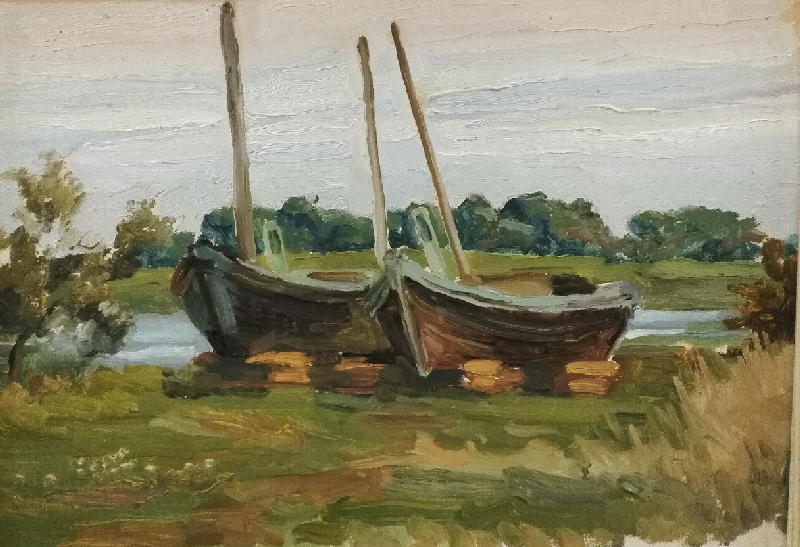лодки.20х30.картонмасло.2014 (1)